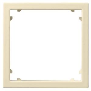 Промежуточная рамка для приборов с накладкой 45*45 мм (Alcatel) Gira крем глянцевый