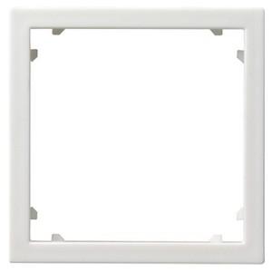 Промежуточная рамка для приборов с накладкой 45*45 мм (Alcatel) Gira белый глянцевый