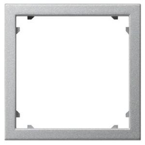 Промежуточная рамка для приборов с накладкой 45*45 мм (Alcatel) Gira алюминий