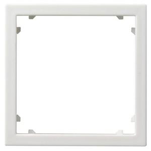 Промежуточная рамка для приборов с накладкой 45*45 мм (Alcatel) Gira белый матовый