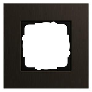 Рамка 1-ая Gira Esprit Коричневый алюминий