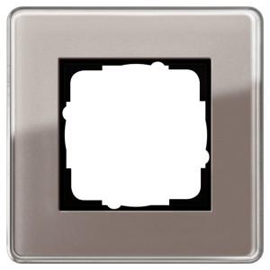 Рамка 1-ая Gira Esprit Glass C Дымчатое стекло