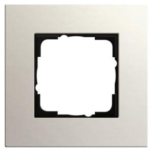 Рамка 1-ая Gira Esprit Linoleum-Multiplex Светло-серый