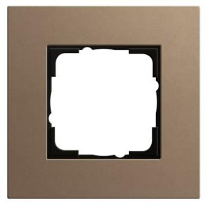 Рамка 1-ая Gira Esprit Linoleum-Multiplex Светло-коричневый