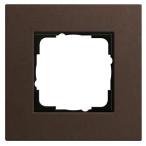 Рамка 1-ая Gira Esprit Linoleum-Multiplex Коричневый