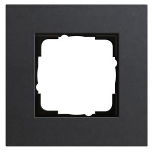 Рамка 1-ая Gira Esprit Linoleum-Multiplex Антрацит