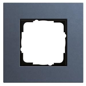 Рамка 1-ая Gira Esprit Linoleum-Multiplex Синий
