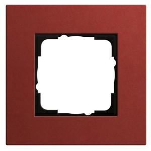 Рамка 1-ая Gira Esprit Linoleum-Multiplex Красный