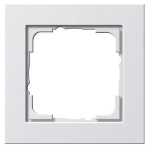 Рамка 1-ая Gira E2 Белый матовый