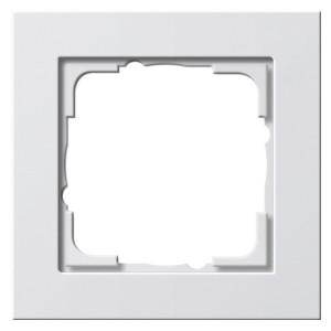 Рамка 1-ая Gira E2 Белый глянцевый
