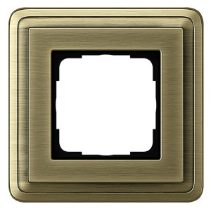 Рамка 1-ая Gira ClassiX Бронза/Бронза