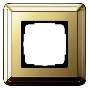 Рамка 1-ая Gira ClassiX Латунь/Латунь