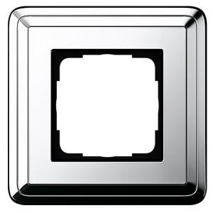 Рамка 1-ая Gira ClassiX Хром/Хром