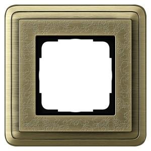 Рамка 1-ая Gira ClassiX Art Бронза/Бронза