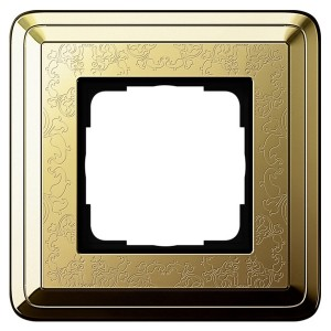 Рамка 1-ая Gira ClassiX Art Латунь/Латунь