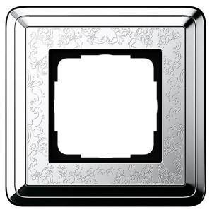 Рамка 1-ая Gira ClassiX Art Хром/Хром