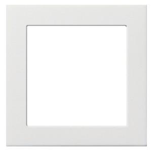 Промежуточная рамка для устройств с накладкой 50*50 мм Gira белый глянцевый