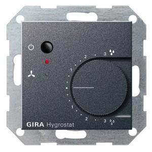 Гигростат электронный Gira System 55 антрацит