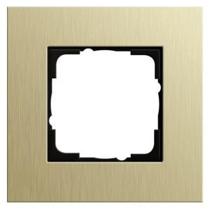 Рамка 1-ая Gira Esprit Алюминий светлое золото