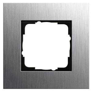 Рамка 1-ая Gira Esprit Сталь
