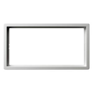 Рамка 2-я без перегородки Gira F100 Белый глянцевый