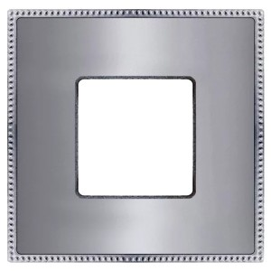 Рамка 1-ная Fede Belle Epoque Metal, bright chrome+bright chrome