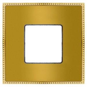 Рамка 1-ная Fede Belle Epoque Metal, bright gold+bright gold