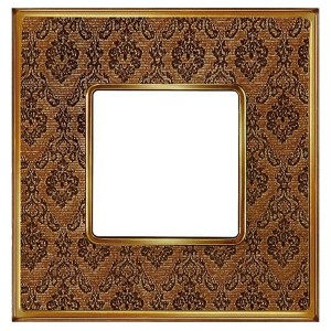 Рамка 1-ная Fede Belle Epoque Tapestry , decorbrass-bright gold