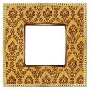 Рамка 1-ая Fede Belle Epoque Tapestry, decorgold-bright gold