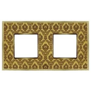 Рамка 2-ая Fede Belle Epoque Tapestry, decorgold-bright gold