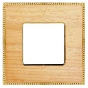 Рамка 1-ная Fede Belle Epoque Wood, oak-bright gold