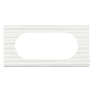 Рамка Legrand Celiane 2п wide сorian белый рельеф