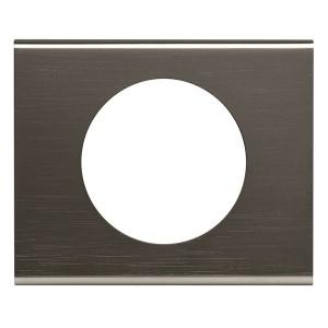 Рамка Legrand Celiane 1 пост черный никель
