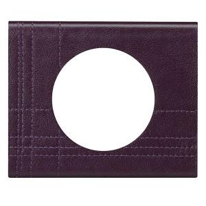 Рамка Legrand Celiane 1 пост кожа пурпур