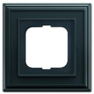 Рамка 1-постовая АВВ Династия, Антрацит (1721-831-500)