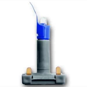 Диод светоизлучающий, 0.5 мА, с цоколем, цвет синий (8380-17)