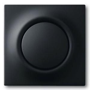 Клавиша для механизма 1-клавишного выключателя/переключателя ABB impuls чёрный бархат (1786-775)