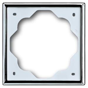 Рамка ABB impuls 1 пост хром (1721-726-500)