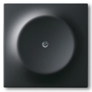 Заглушка с суппортом ABB impuls черный бархат (1742-775)