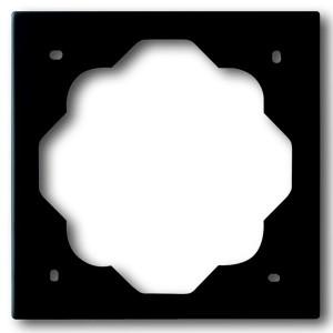 Рамка ABB impuls 1 пост чёрный бархат (1721-775)