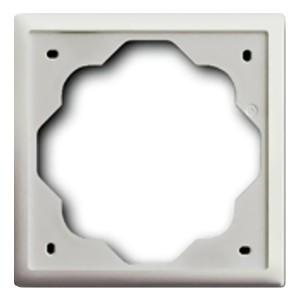 Рамка ABB impuls 1 пост белый бархат  (1721-774-507)