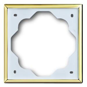 Рамка ABB impuls 1 пост золото (1721-73-500)