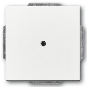 Заглушка с суппортом, серия solo/future, цвет davos/альпийский белый (1742-84-500)