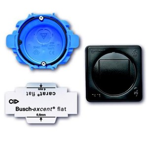Набор монтажный АВВ Axcent Flat 2-поста d82мм глубина46-56мм (3048/20)