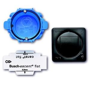 Набор монтажный АВВ Axcent Flat 1-пост d74мм глубина60мм (3058/10)
