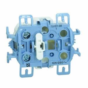 Одноклавишный выключатель 10А 250В, Simon 73 Loft