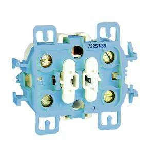 Проходной одноклавишный выключатель с 3-х мест (перекрёстный) 10А 250В, Simon 73 Loft