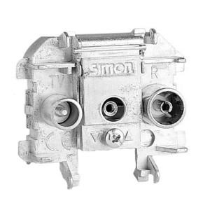 Розетка R-TV-SAT проходная Simon 73 Loft