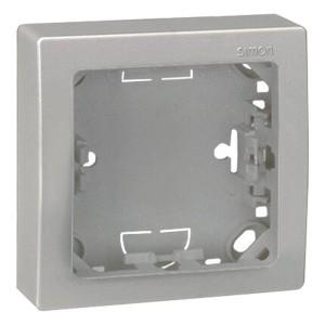 Рамка 1 пост 75х75 мм Simon 73 Loft, алюминий