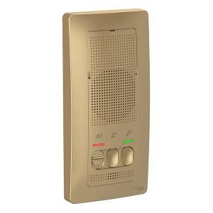 Переговорное устройство (домофон) настенный монтаж Blanca Schneider Electric 25В титан